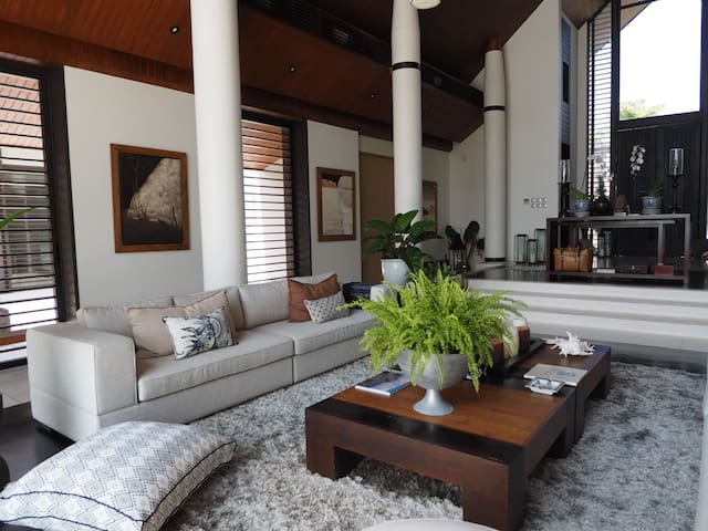 Separate Private Lounge Area