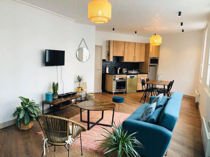 Appartement tout neuf, lumineux et tout équipé