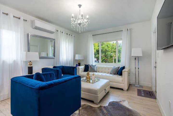 Blue Ocean Villa- Unit 1 - Living Room