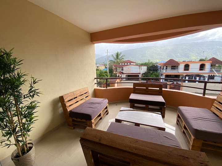 Jarabacoa Mountain View apartment