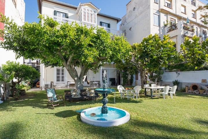 Villa Amalia Málaga Beach / Center with parking