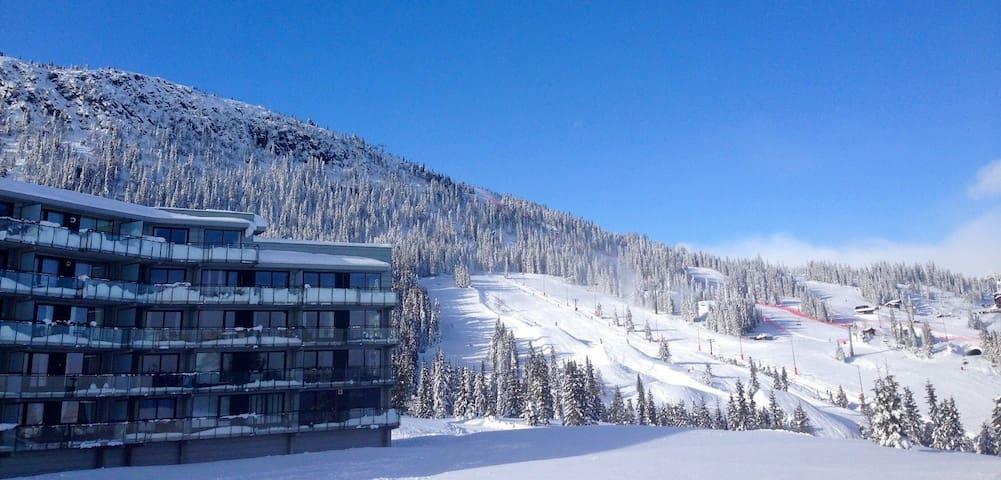 Kvitfjell,3 roms leilighet 81 kvm med ski inn/out.