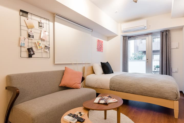 Charming & Comfortable in Shinjuku Gyoenmae