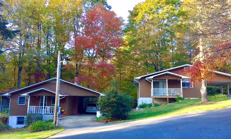 Parrish Mountain Retreat Cottage Rental #2 - Linville Falls - Casa