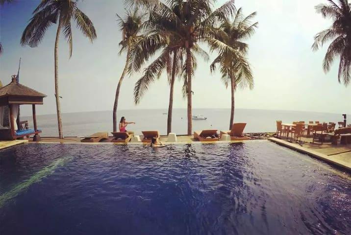 Alba Dive tulamben Bali巴厘岛秘密花园潜水度假村