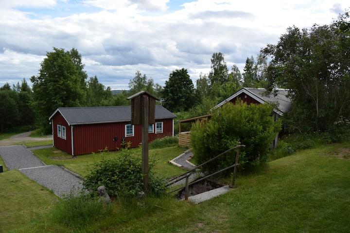Stuga Björn  50km till Romme