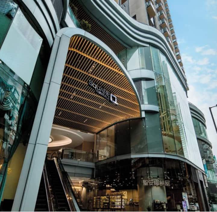 Modern Luxury Studio Olympic MTR 奥運站  西九龍 高鉄站