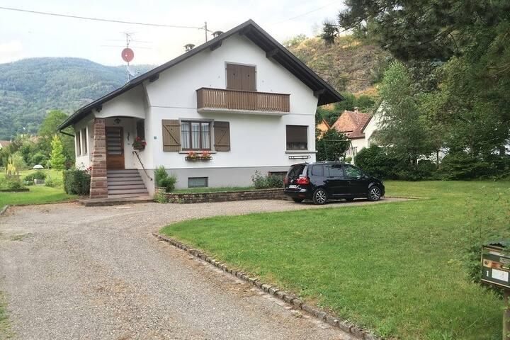 Belle maison individuelle en Alsace