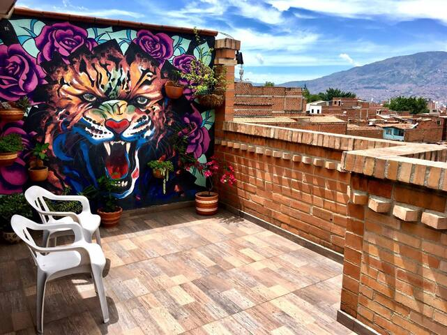 La mejor vista en Medellín
