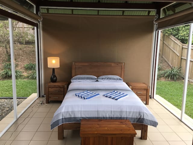 The outdoor indoor gazebo bedroom 6