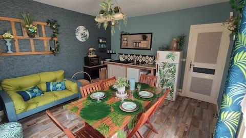 Appartement indépendant dans maison Berrichone