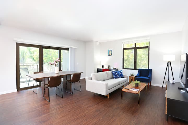 TRIBE ❤️ Deep Cleaned 🧽 Corner 2BR in Cupertino