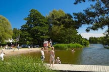Långsjö during summer time