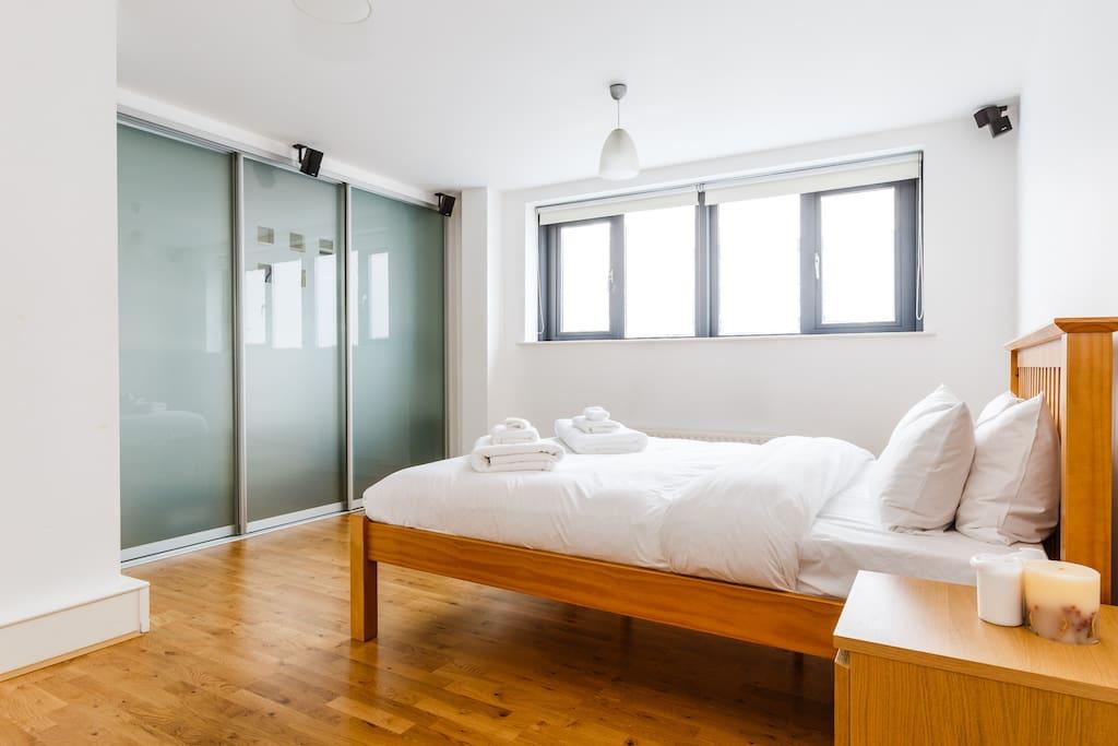 Super King Double Bedroom with en suite