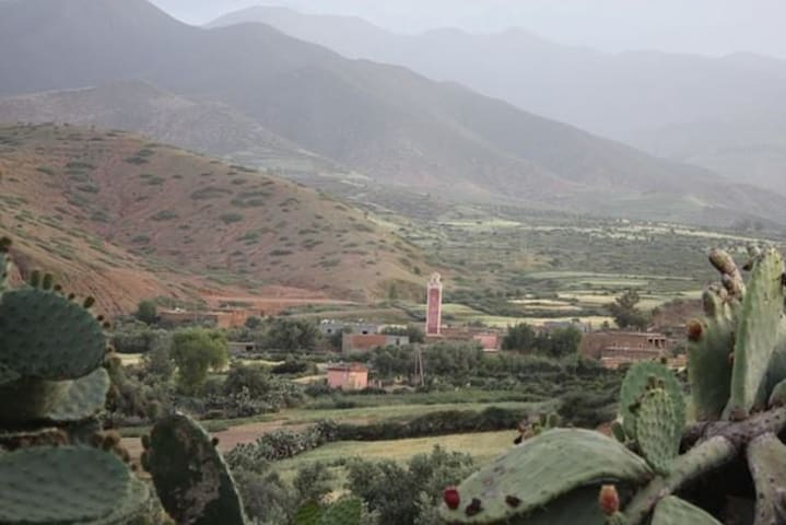 Traditional house Between High Atlas Mountains