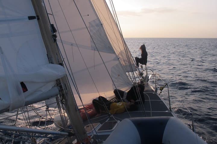Private sailboat with skipper 24h all included!