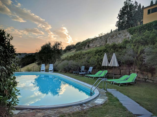Casa Anforti Holiday apartments - Vaglia - Huoneisto