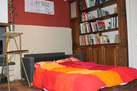 Real characterfull apparment in Molenbeek St-Jean - Molenbeek-Saint-Jean - Bed & Breakfast