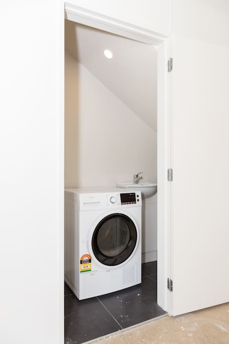 Laundry with washing machine and dryer