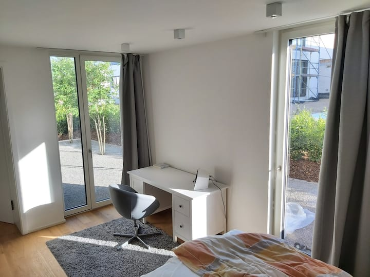 Private room in central Frankfurt location