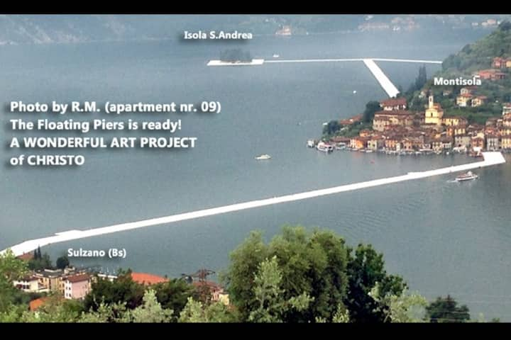Excellent SULZANO ISEO LAKE (very nice SCIA 19823)