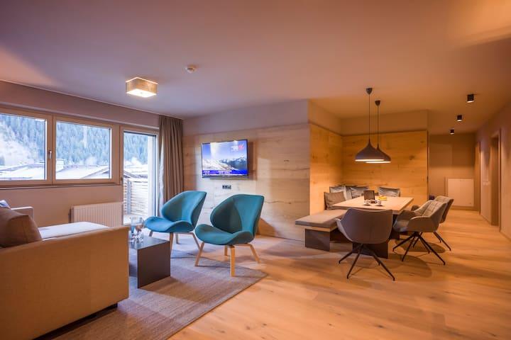 Luxus-Apartment EDELWEISS mit 3 Schlafzimmern