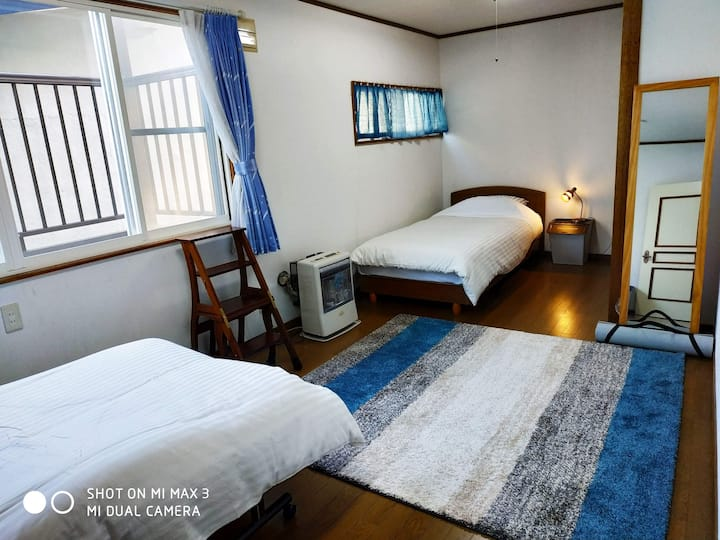 Bay View House - Blue Room(OTARU/小樽)