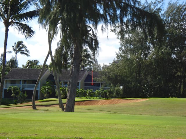The 19th Hole; AC in all rooms; Closest to hotel - Kahuku - Szeregowiec