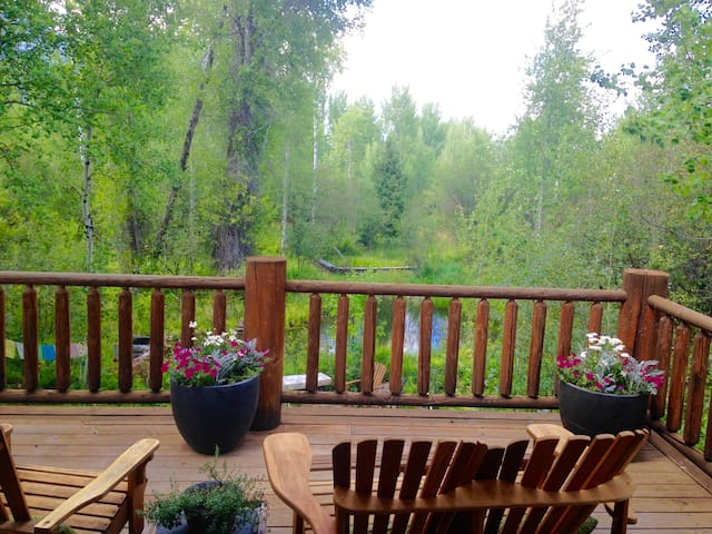 Lovely Private Log Home Minutes to  Resort & Town - Wilson - Talo