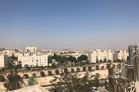 Roof apt. with wonderfull view to the Dead sea - Jerusalem - 公寓