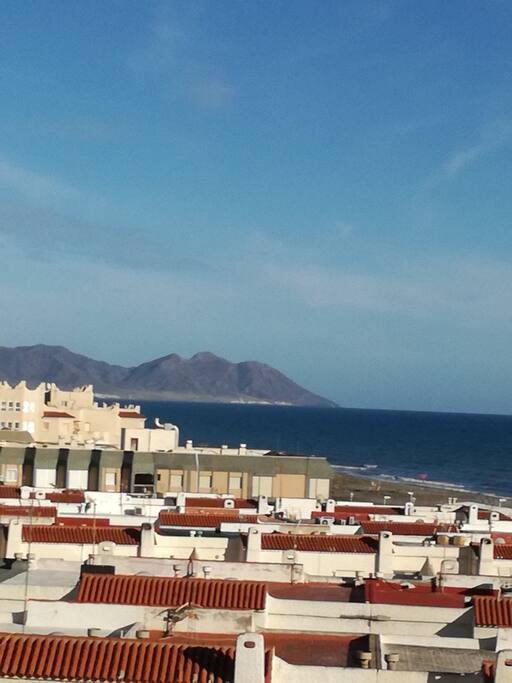 Vistas de Cabo de Gata desde la Casa