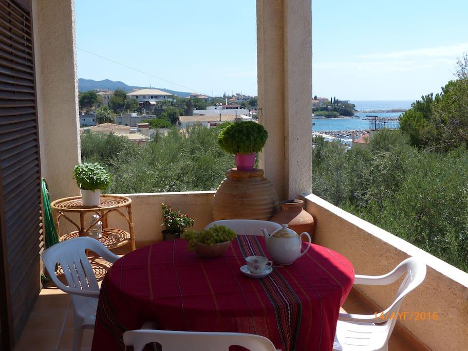 Balcony at midday