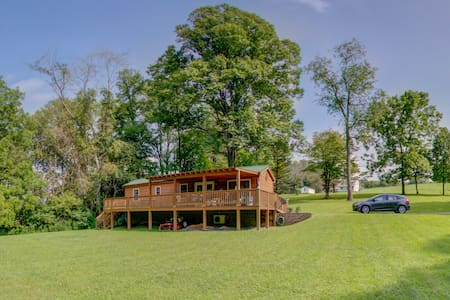 Laurel Run Cabins on The Creeper-Big Rock Alvarado