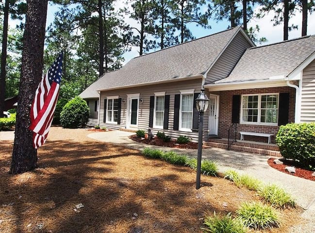 Pinehurst Golf Front Home