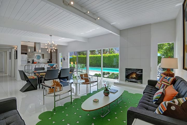 Stunning Mid-Century Alexander, South Palm Springs