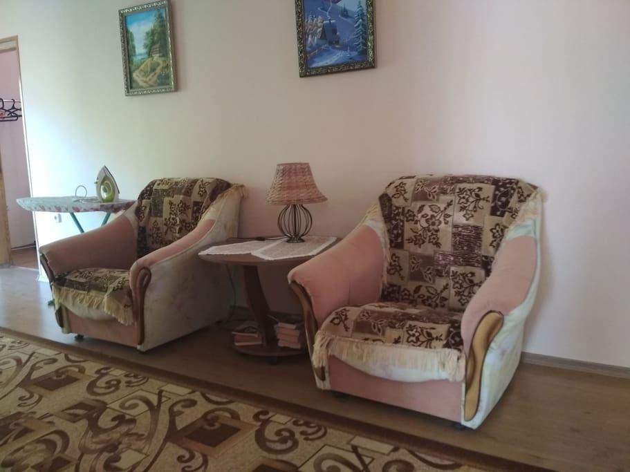 Зона отдыха(коридор)