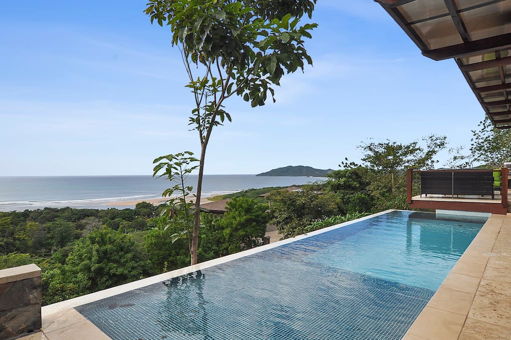 Fantastic view of Playa Tamarindo and Playa Grande