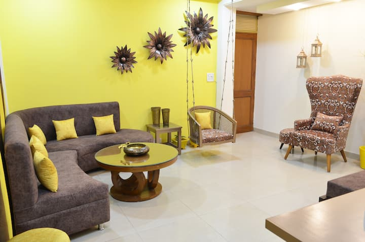 Corona sterilized 2BHK Prime Location South Delhi8