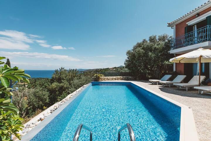 3BR Seaview Villa in Zante by UniqueVillas