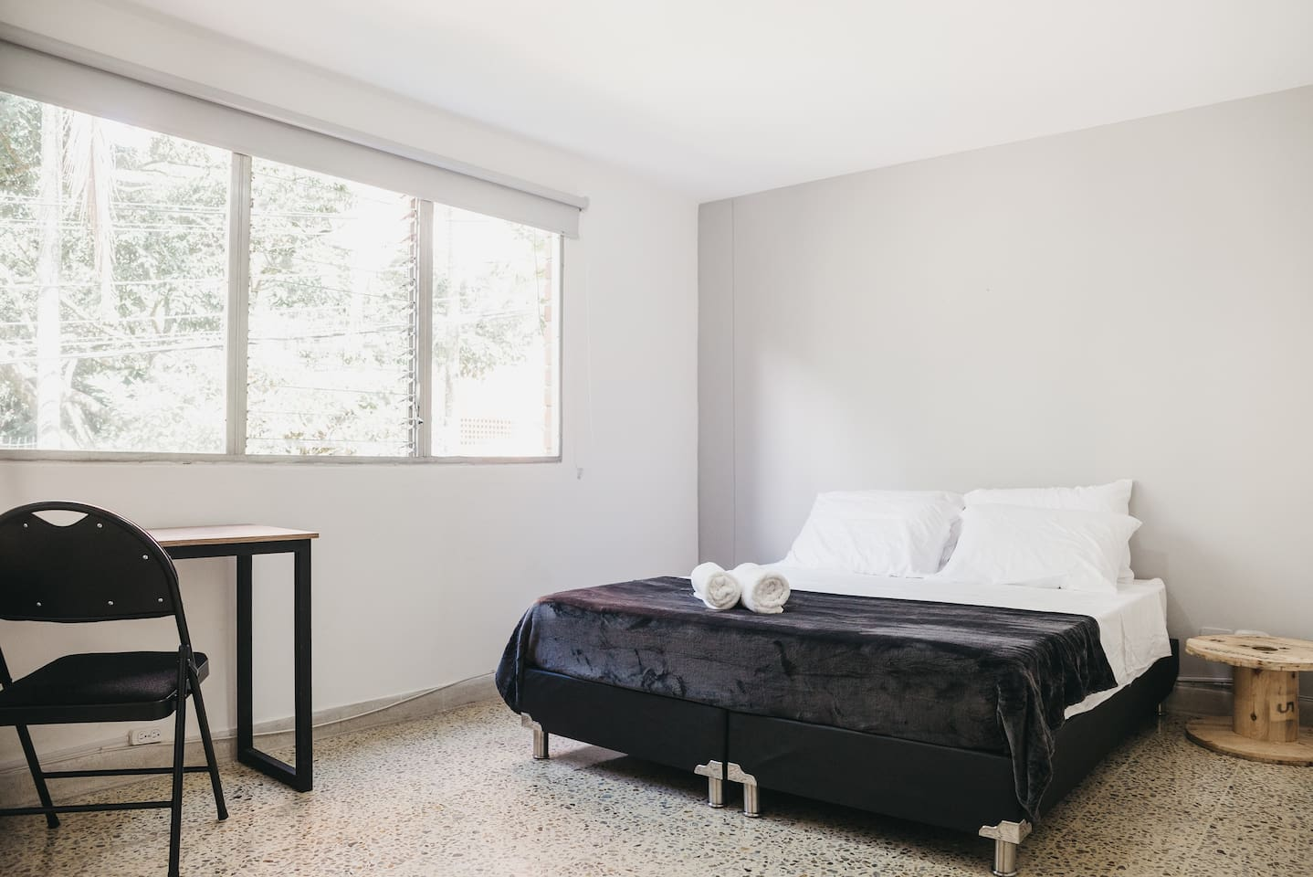 Your great bedroom with everything you need. Queen bed!