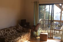 Newly remodeled Studio! With deck !