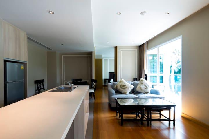 2 BR Amari Residence with Hotel Service - Nong Kae - Apartament