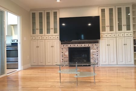 Large  one bedroom suite near Santa Clara