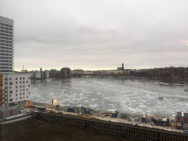 Nyprod. lägenhet med Stockholms finaste sjöutsikt - Stockholm - Condominium