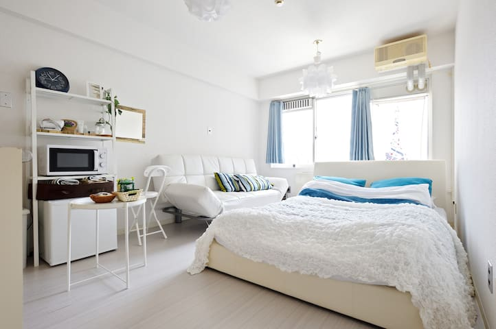 Comfortable&Clean room your home in Osaka/FreeWifi