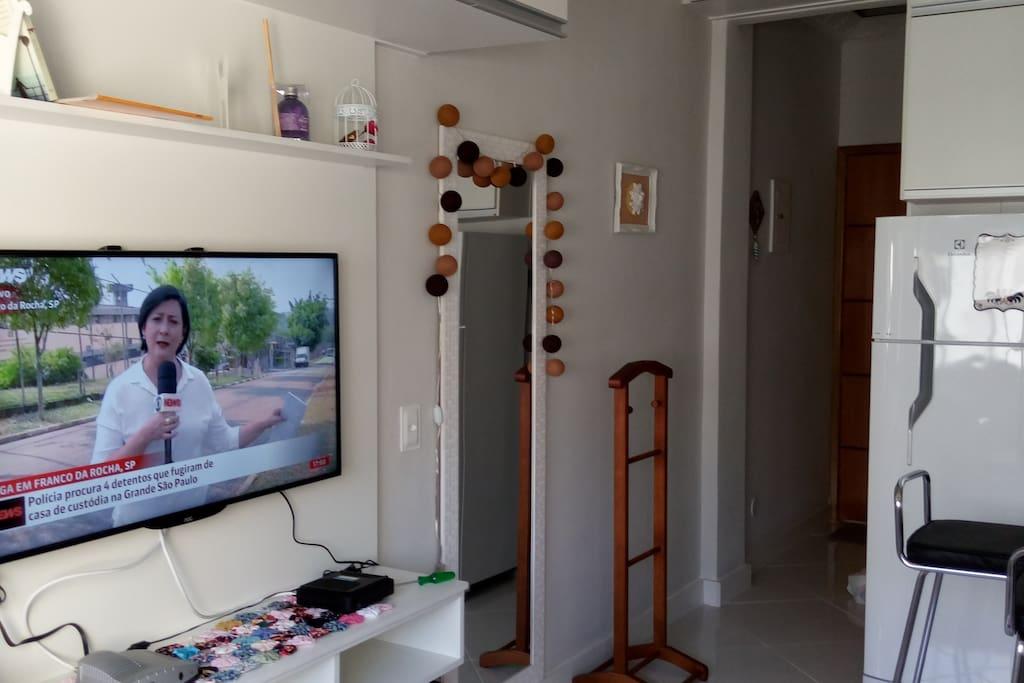 TV, internet e todo o conforto
