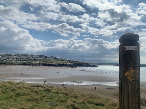 Perfect Family Base 200 meters from Polzeath Beach