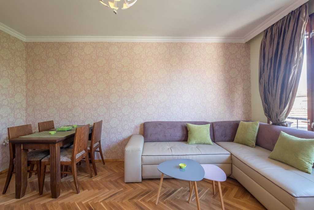 We redesigned a mid-century charming apartment in the old center of Sofia