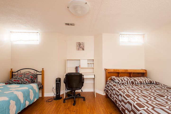 Clean & well-stock private basement apartment