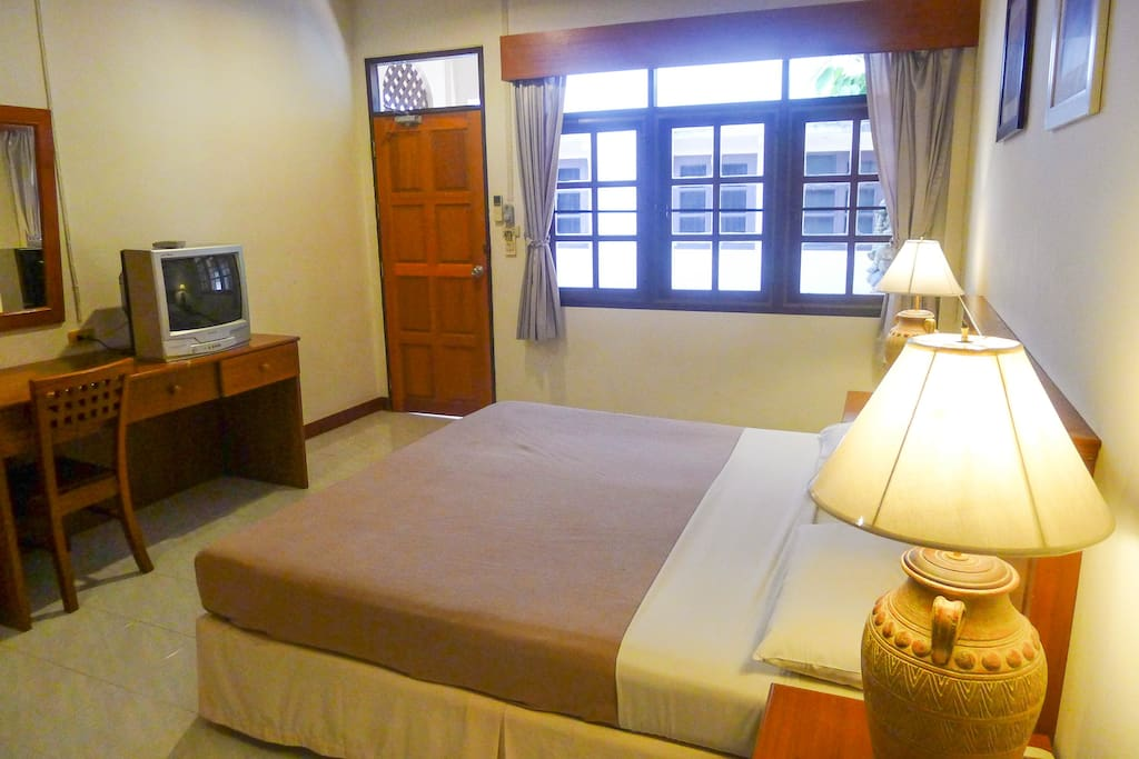All standard amenities and facilities in room.